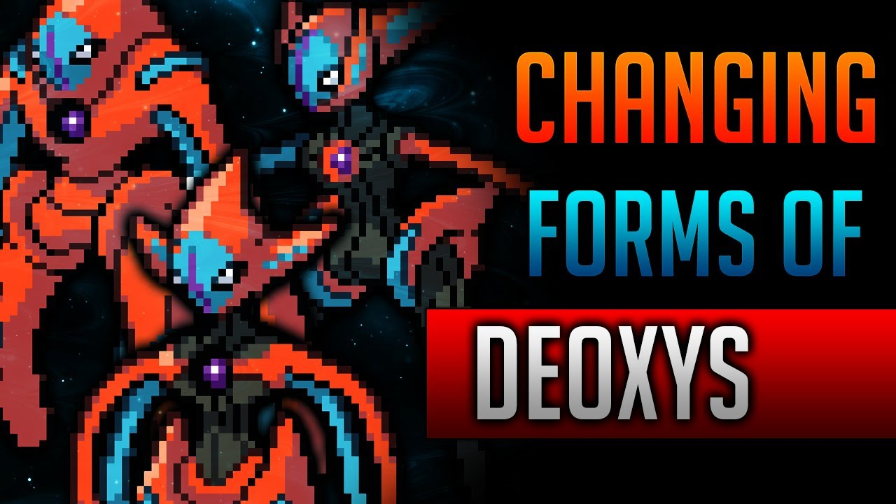 How & Where to catch/get - Change Deoxys's Forms in Pokemon Black ...