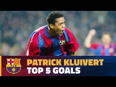 Patrick Kluivert's best goals for FC Barcelona