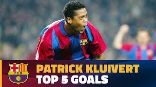 Patrick Kluivert's Best Goals For Fc Barcelona