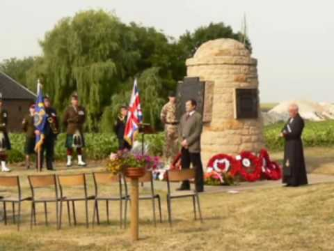 Hearts in Contalmaison 1st July 2010