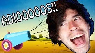MI CABEZA SE FUE AL DEMONIO! | Turbo Dismount - JuegaGerman