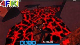 El piso es lava - Nubi roblox Flood Escape 2