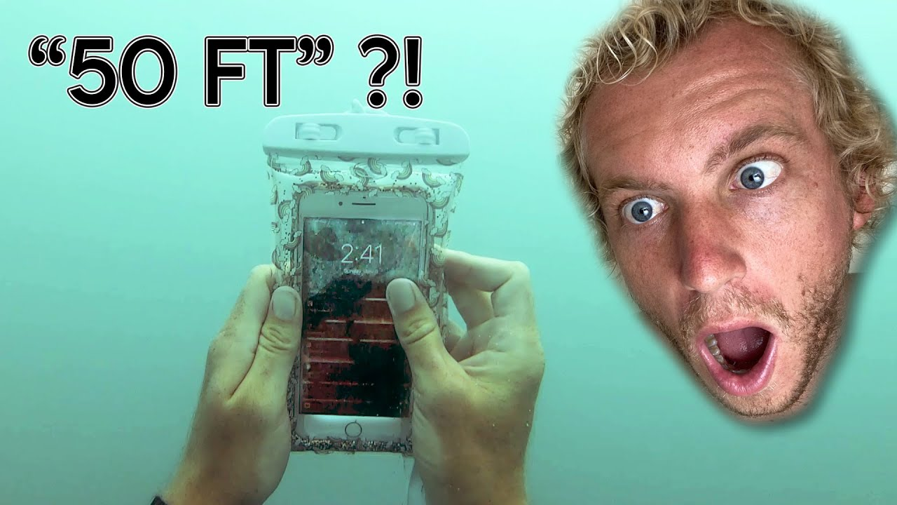 iPhone Rescue Mission (50 FEET DEEP!? STILL WORKING?!)