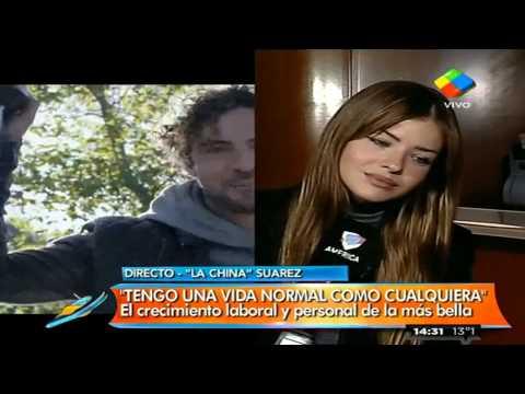 """China Suárez: """"A David Bisbal lo quieren de verdad"""""""