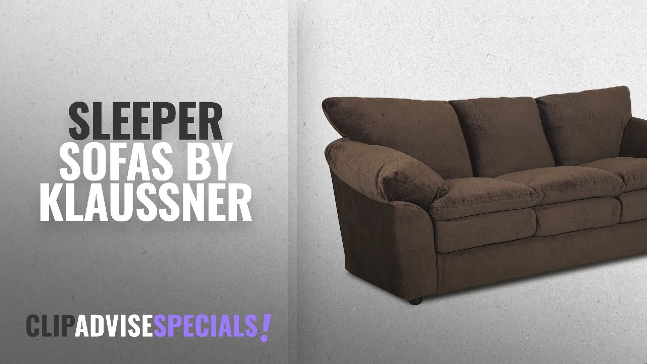 Top 5 Klaussner Sleeper Sofas 2018 Heights Sofa Brown