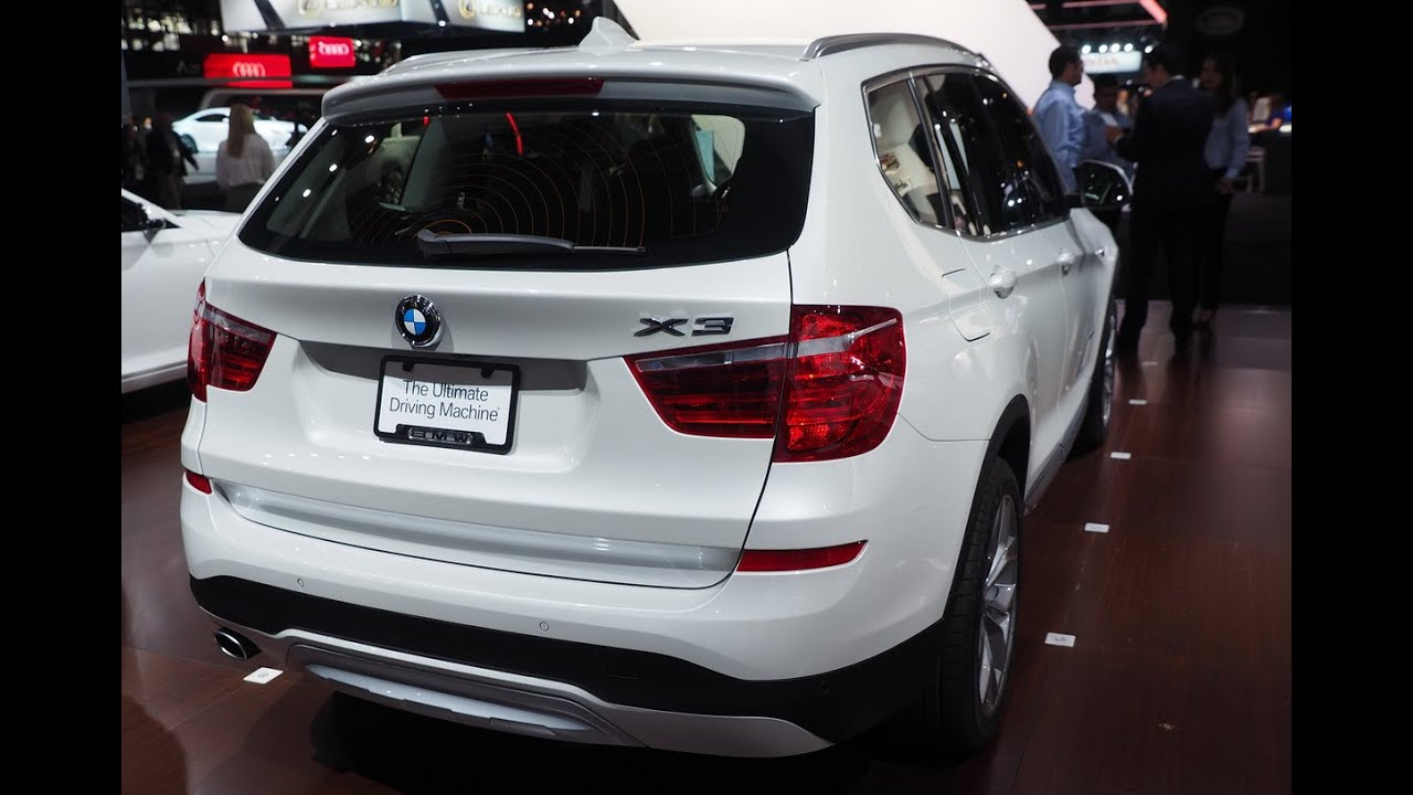 all new cars review 2016 bmw x3 first look review - youtube