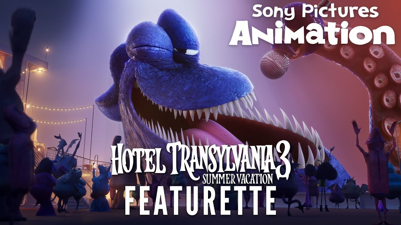 Meet The Kraken Hotel Transylvania 3 Summer Vacation Youtube
