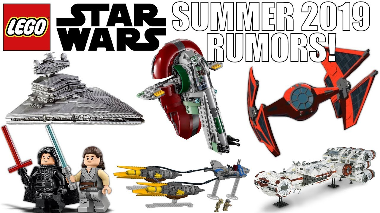Lego Star Wars Summer 2019 Sets Rumors Ucs Star Destroyer