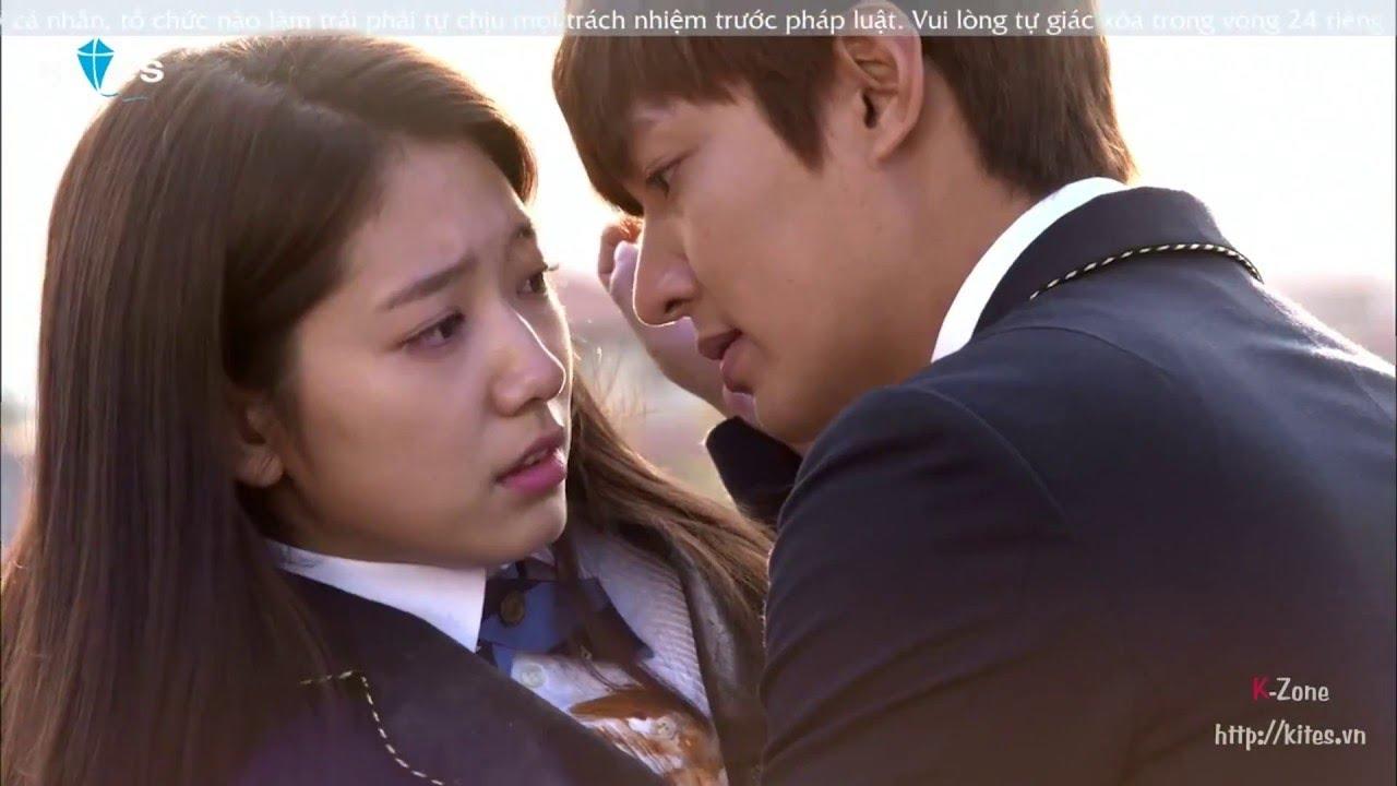 Những khoảnh khắc cute phô mai que của Lee Min Ho & Park Shin Hye khi đi học | Người Thừa Kế