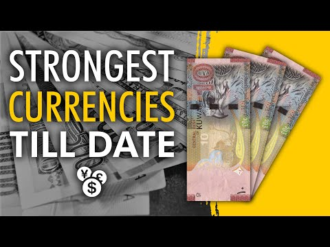 Top 5 Most Valuable Currencies in 2017