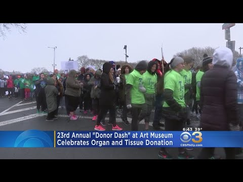 23rd Annual Gift Of Life Donor Dash Hopes To Raise Awareness