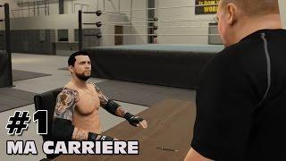 WWE 2K15 : Ma carrière - Débuts sur PS4