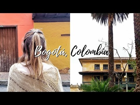 Travel Vlog: Things To Do In Bogotá, Colombia!