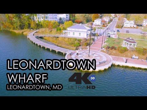 Leonardtown, MD Wharf 4K