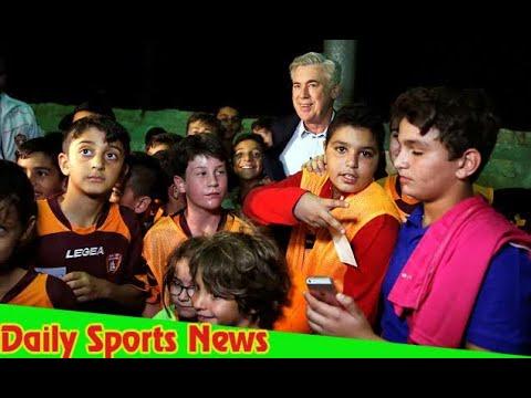 Carlo Ancelotti in Israel days after Bayern Munich sacking