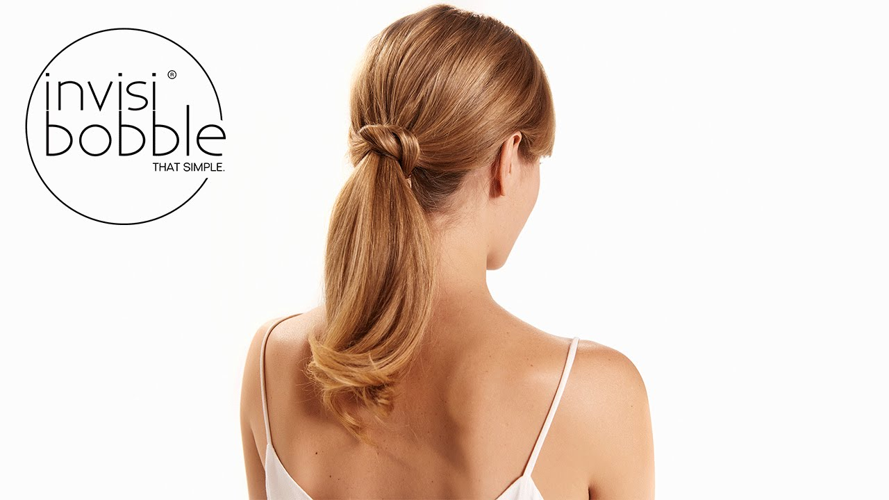 (k)not just a ponytail - medium invisibobble hair tutorial by Denise  Bredtmann d0b14f3e776