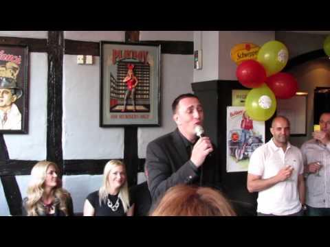 ESCKAZ in Copenhagen: Sergej Ćetković - Jos volim te (at Montenegro party)
