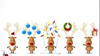 DEERS !!!! . Funny  Animated E-card