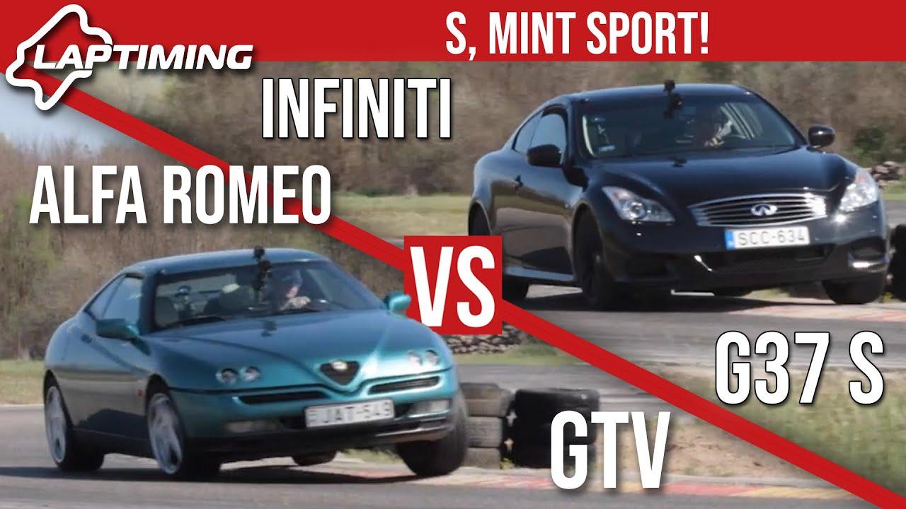 Az autó, ami a rendőrségi hírekbe is bekerült - Alfa Romeo GTV vs. Infiniti G37 S (Laptiming ep.178)