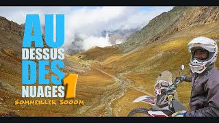 Off Roadtrip à moto en Italie 1 - Le col du Sommeiller - Moto trail