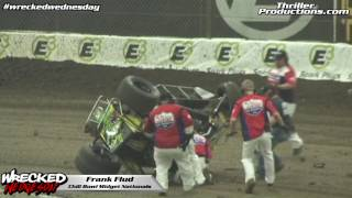 Wrecked Wednesday 17 Frank Flud Chili Bowl Flip