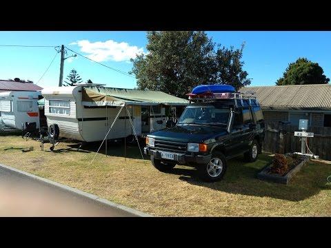 Camping at Wynyard North West Tasmania
