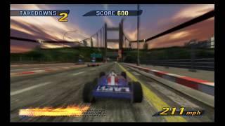 Burnout 3 takedown #5 - Formula 1 Road rage