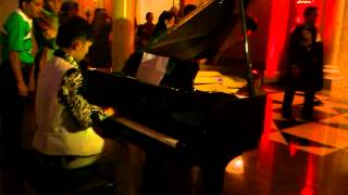 Leon Onn playing Piano ( Secret Garden ) @Grand Wedding