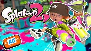 ABRELO GAME - SPLATOON 2 on line ¿Volvera Manuel con el rodillo en Splatoon? - en Español