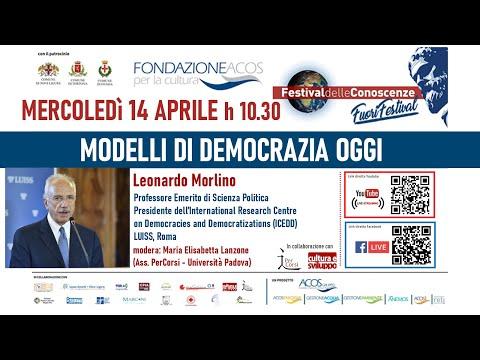 Festival delle Conoscenze MODELLI DI DEMOCRAZIA OGGI