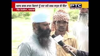 Paddy crop damaged, farmers demand compensation