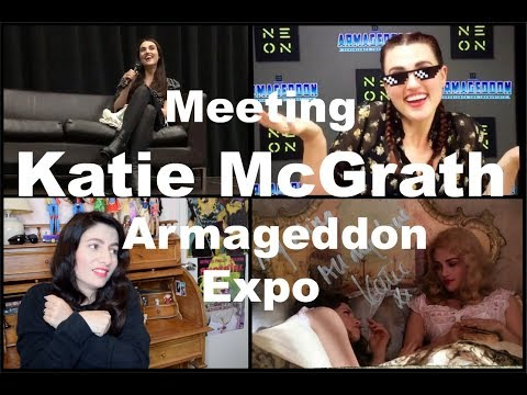 My Experience of meeting Katie McGrath at Armageddon Expo