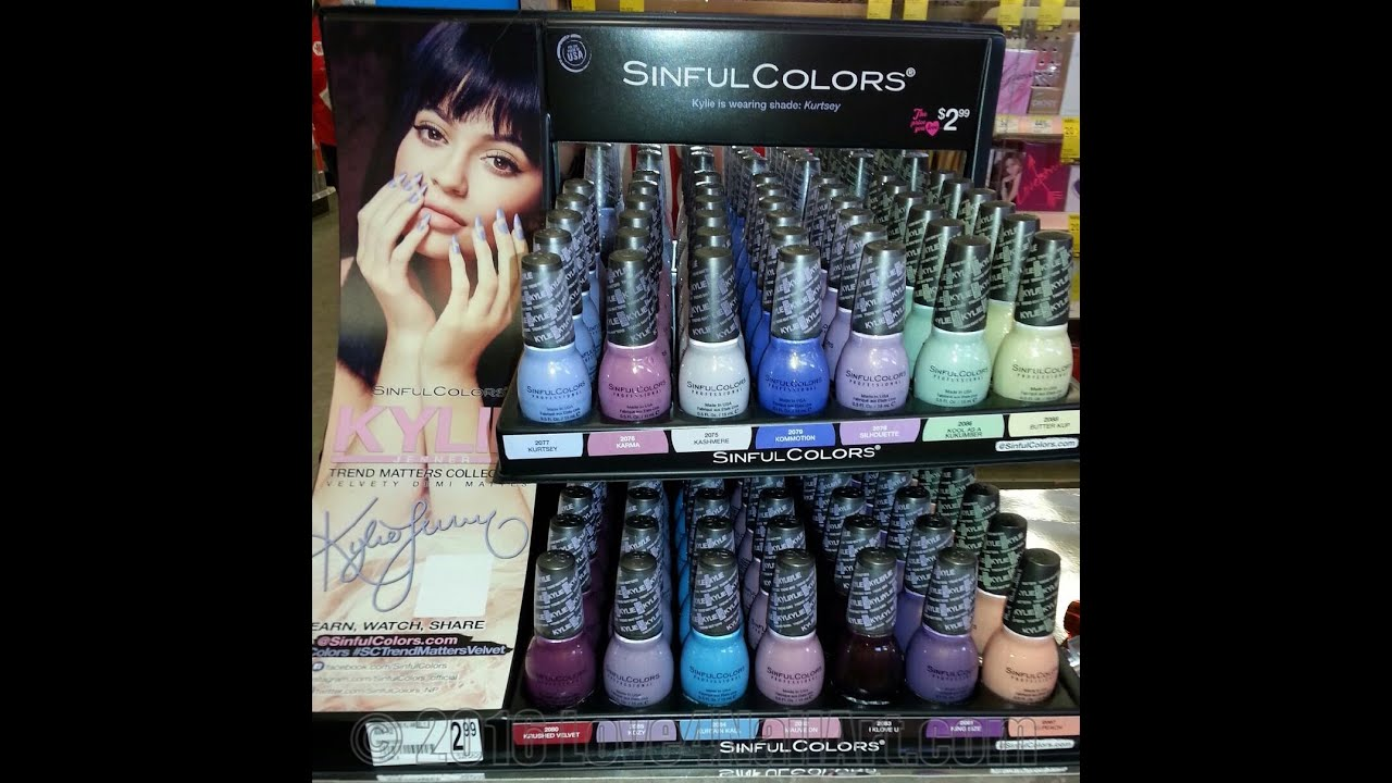 SinfulColors ♡ Kylie Jenner Trend Matters Collection Velvety Demi ...
