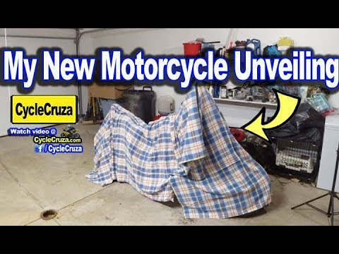 MY NEW MOTORCYCLE IS HERE!!