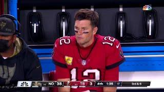 Tom Brady Lowlights vs. Saints   NFL Week 9