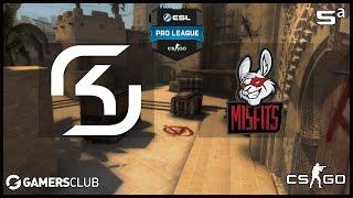 ESL Pro League S5 - SK Gaming vs. Misfits (Mirage) - Narração PT-BR