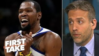 Kevin Durant should prioritize free agency over the NBA Finals - Max Kellerman | First Take