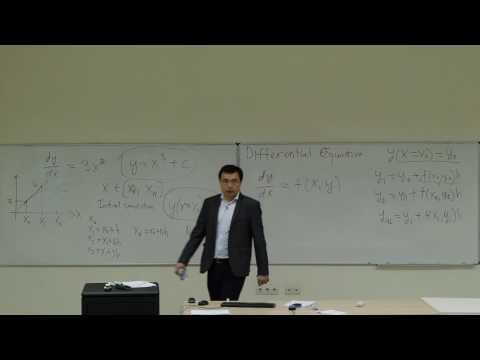 Computational Physics Lecture 23, Runge-Kutta Methods