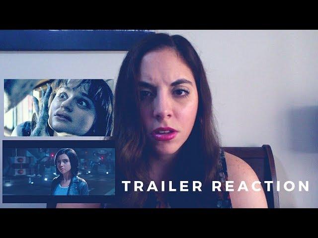 ALITA BATTLE ANGEL + SLENDER MAN TRAILER 2 REACTION!