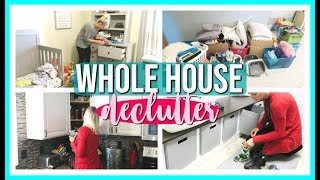 WHOLE HOUSE DECLUTTER WITH ME 2019 | PURGE WITH ME