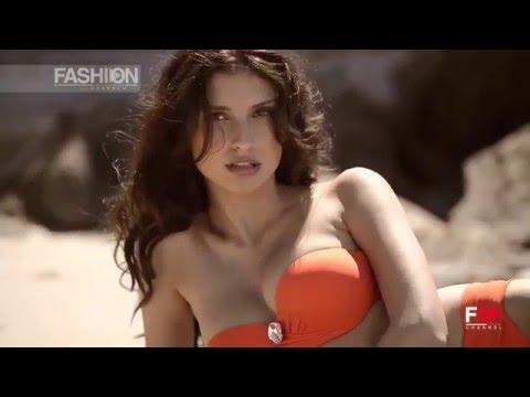 """RITRATTI MILANO"" Beachwear Collection Summer 2015 adv backstage by Fashion Channel"