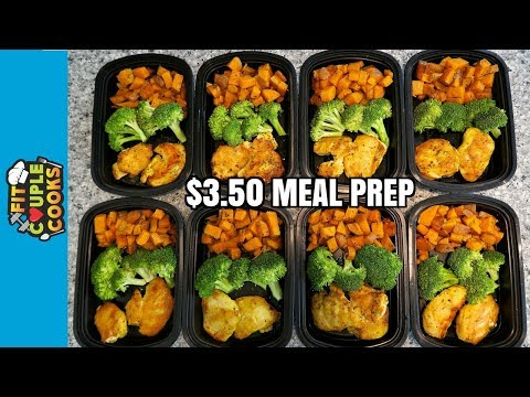 How to Meal Prep Ep. 56 CHICKEN BROCCOLI SWEET POTATO