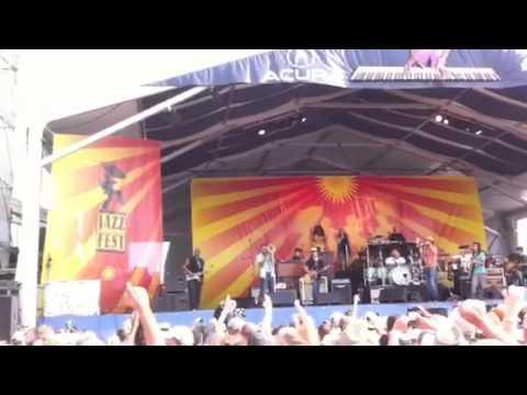 Kid rock @ jazzfest 2011