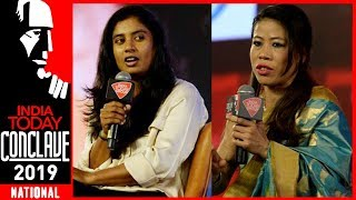 Mary Kom And Mithali Raj Exclusive | Steel Magnolias: Woman Power | India Today Conclave 2019