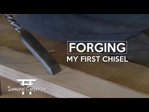 FORGING MY FIRST CHISEL, EPIC WIN OR FAIL?