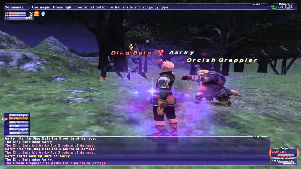 I HATE ORCS - Final Fantasy XI Gameplay (Part 3) - YouTube