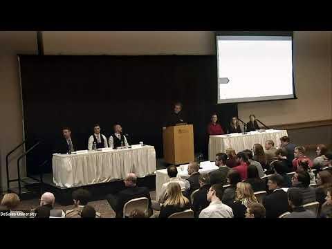 The Norene & Tony Salvaggio Debate Series at DeSales University: Capitalism Vs  Socialism