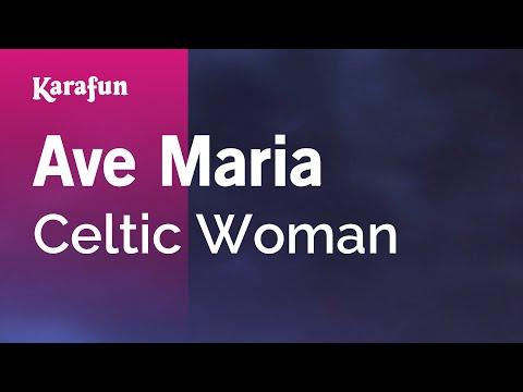 Karaoke Ave Maria - Celtic Woman *
