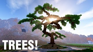 TREES in Minecraft!