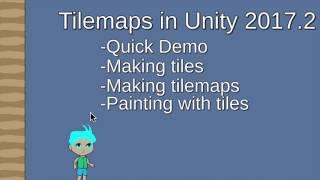 Unity 2017.2 Tilemap Tutorial pt 1